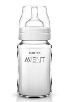 飞利浦新安怡经典玻璃奶瓶