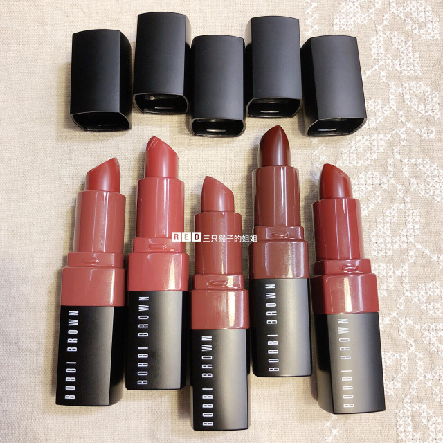 BOBBIBROWN CrushedLipcolor手臂试色