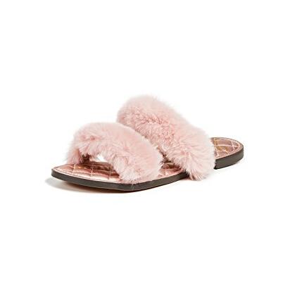 Sam Edelman Griselda Slides 毛绒拖鞋 $59.5(约408元)