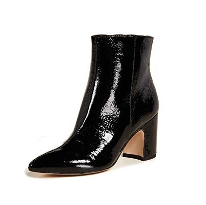 Sam Edelman Hilty Booties 女士漆皮短靴 $160(约1096元)