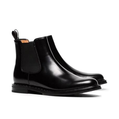CHURCH'S Nirah 女士牛皮铆钉短靴 ¥4369.5