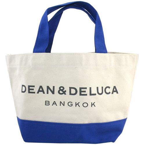 【店铺满10000日元立减1000日元】DEAN&DELUCA 泰国曼谷限定手提包 蓝色 6980日元(约426元)