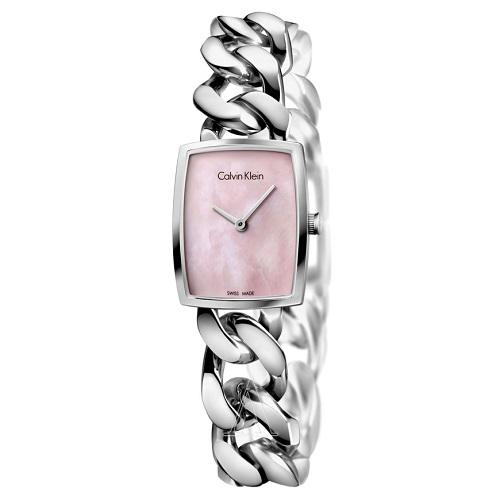 Calvin Klein 凯文克莱 Amaze 系列 K5D2M12E 女士粉色手链腕表 $59.99(约416元)
