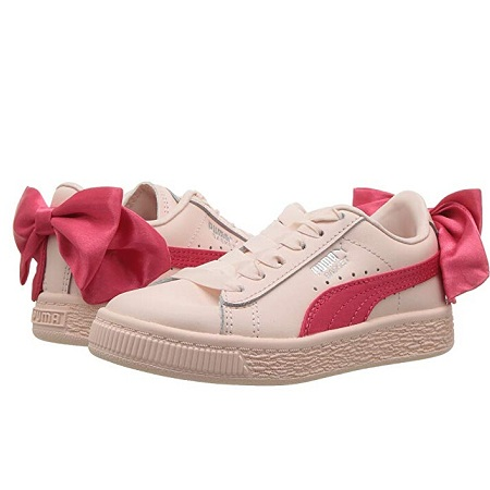 Puma Kids Basket Bow AC PS 童款运动鞋 $20.99(约144元)