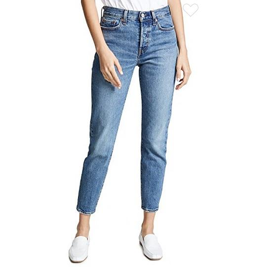 爆款补货上架~Levi's Wedgie Icon 牛仔裤 $98(约679元)