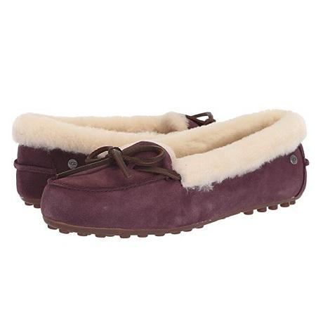 UGG Solana Loafer 毛绒乐福鞋 两色可选 $55(约379元)
