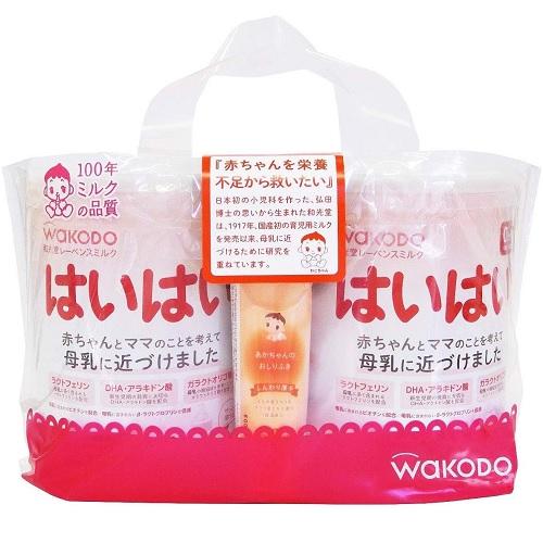 【日亚自营】WAKODO 和光堂 宝宝1段 0个月~1岁奶粉 810g*2罐 日元3433(约217元)+34积分