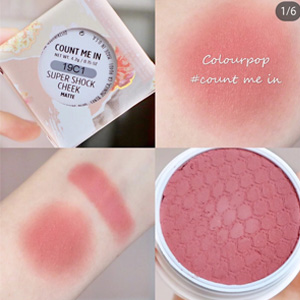 Colourpop 土豆泥腮紅 count-me-in $7.2(約50元)