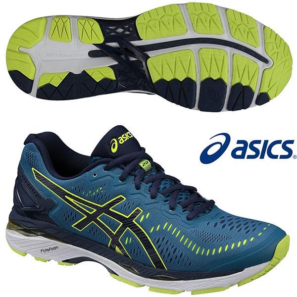 【亚洲免运费】Asics 亚瑟士 GEL-KAYANO 23 最顶级男士慢跑鞋 11380日元