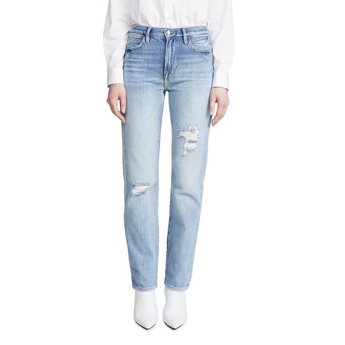 【半价】FRAME 复古直筒牛仔裤 $128.63(约909元)