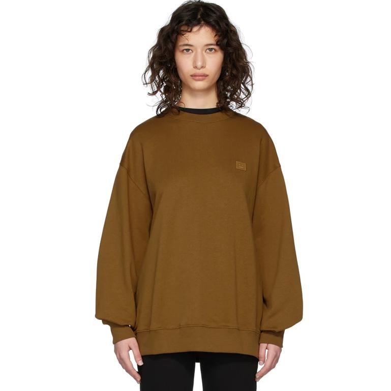 Acne Studios 棕色廓形卫衣 $166(约1173元)