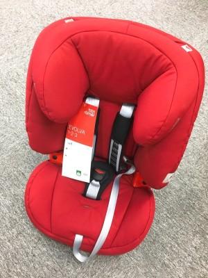 【晒单】红红火火的德国直邮Britax EVOLVA 1-2-3 百代适 儿童汽车座椅 €131.39(约1081元)