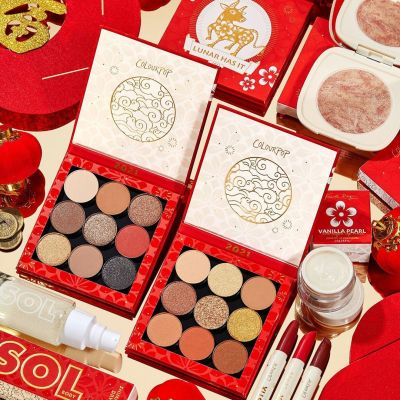 【预告】ColourPop:卡拉泡泡 牛年新春限定款彩妆系列 1/13号凌晨2点上架
