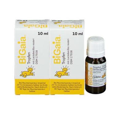【2瓶装包邮含税】Bigaia 拜奥 婴幼儿童益生菌/乳酸菌滴剂 10mlx2 €45(约350元)