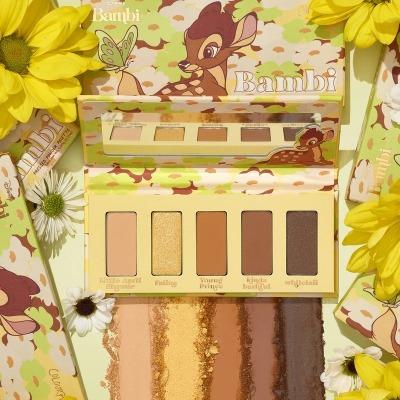 【高返15%】ColourPop×小鹿斑比联名系列 bambi palette五色眼影盘 $12.6(约81元)