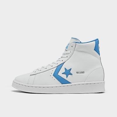 【5.3折】CONVERSE OG PRO 童鞋 白蓝 皮革高帮休闲鞋<br />$40(约258元)