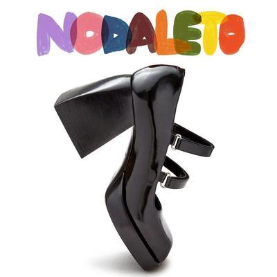 【可享新人8.5折】Nodaleto 黑色高跟玛丽珍码全<br />$682(约4402元)