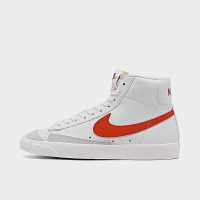NIKE BLAZER MID '77 女士 经典高帮白红休闲鞋 码全多色<br />$100(约642元)