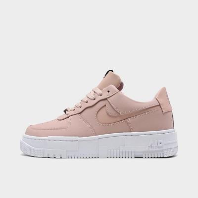 NIKE AIR FORCE 1 PIXEL 女士 粉白 休闲鞋 少量现货<br />$100(约641元)