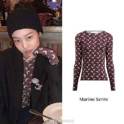 【新客8.5折】Marine Serre Jennie同款月亮内搭上衣<br />€207.4(约1622元)