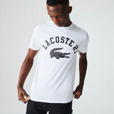 【7.5折】LACOSTE 27 T-SHIRT 鳄鱼 LOGO T恤 少量现货<br />$45(约286元)