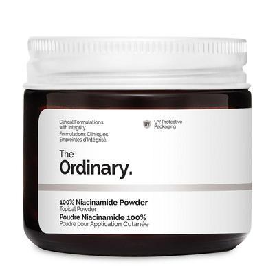 【2件95折+用码【FU618】满£100-£8+含税】The Ordinary 100%烟酰胺粉 20g 美白控油收毛孔<br />£4.9(约44元)