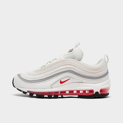 NIKE AIR MAX 97 CASUAL 女士 白红银 经典休闲鞋 黄金码全 多色<br />$170(约1085元)