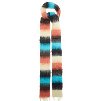 降价!【变相4.5折】Loewe 蓝白拼色围巾<br />€78.3(约603元)