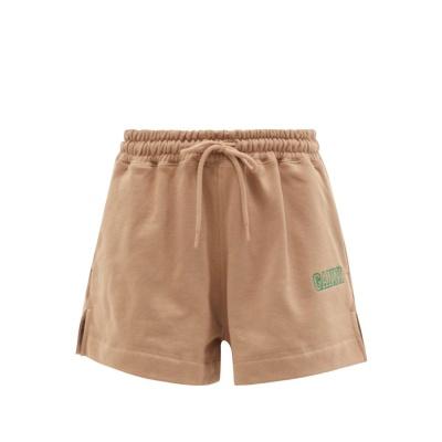 【寄澳门定价优势】GANNI 字母logo运动短裤 两色可选<br />€95(约730元)