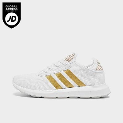 Adidas SWIFT RUN X 大童 白金 休闲鞋 4.6折<br />$30(约192元)