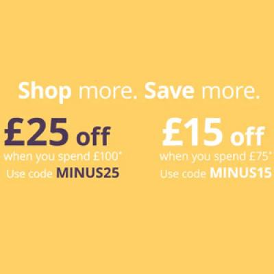 Feelunique英国站:今日优惠更新<br />精选商品最高满£100减£25