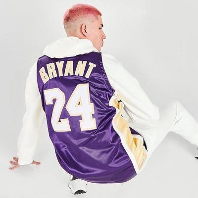 洛杉矶湖人 NBA 科比 名人堂篮球服 少量现货<br />9.5折$285(约1829元)