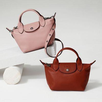 Farfetch 发发奇:Longchamp 珑骧包大促<br />低至7折+新人额外9折饺子包£63