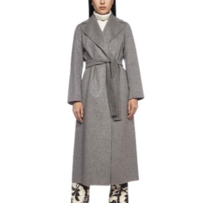 'S Max Mara 银灰色款 Poldo 羊毛大衣<br />8.5折$685.29(约4375元)